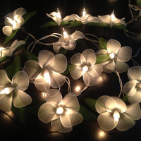 Fairy string lights for home decor,party decor,wedding patio,20 pieces indoor string lights,bedroom fairy lights artificial handmade flower
