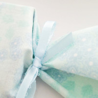 50 It's A Boy Baby Shower Soap Favors - Custom Handmade Soap Wrapped In Fabric