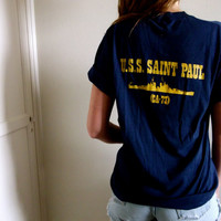 U.S.S. Saint Paul ship military tee