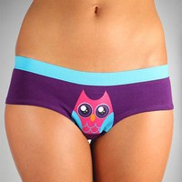 Wide Eyed Owl Panty