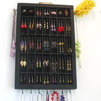 Printer Drawer Jewelry Organizer with stud slots