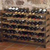 Modular Australian Pine Wine Racks