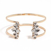 Crystal Cage Cuff (Ships By 9/24)