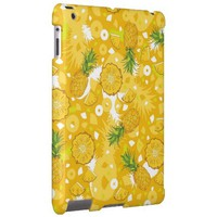 Pineapple - Tropical Yellow iPad Case from Zazzle.com