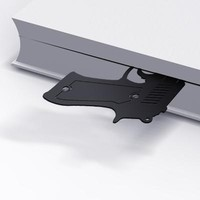 Armed Bookmark  - MollaSpace.com