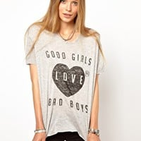Zoe Karssen Good Girls T-Shirt at asos.com
