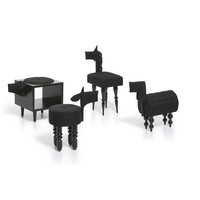 Black animal chair by biaugust  - MollaSpace.com