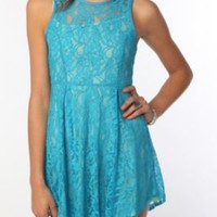 Thistlepearl Lace Racerback Dress