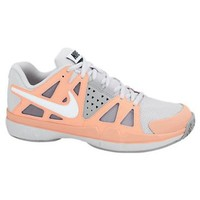 New Nike Air Vapor Advantage Grey/Atomic Pink Ladies 7