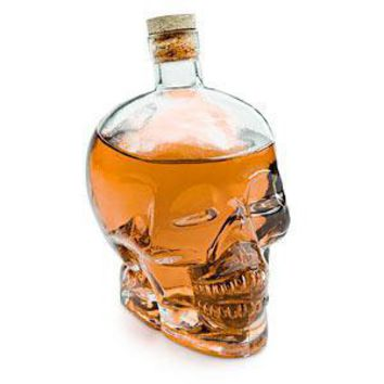 Glass Skull Decanter
