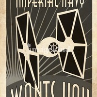 """imperial navy wants you"" by Steve Squall"