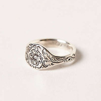 Anthropologie - Engraved Posey Ring