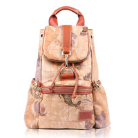 Vintage World Map Leisure Backpacks