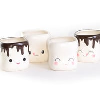 Sweet Marshmallow Mugs Set - PLASTICLAND