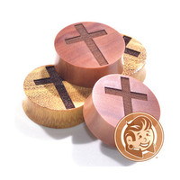 Cross Saba Wood Plugs