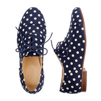 Girls' dot oxfords - AllProducts - sale - J.Crew