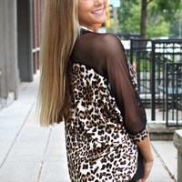 Just a Peek Cheetah Cardigan