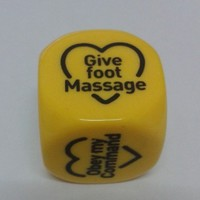 Yellow Love Couple Dice Game Toy:Amazon:Toys & Games