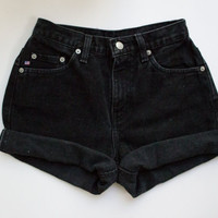 ALL SIZES Vintage ARTEMIS High Waisted Denim Shorts by MintThreads