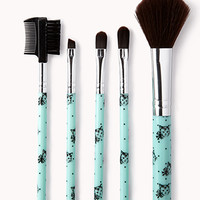 Cat Cosmetic Brush Set