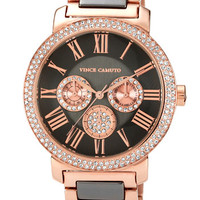 Vince Camuto Crystal Accent Multifunction Watch, 41mm | Nordstrom