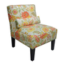 Skyline Furniture Armless Chair in Bertie Mimosa