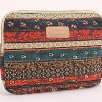 Kinmac New Bohemian Canvas Fabric 13 Inch Laptop Sleeve for Macbook Pro 13 / Macbook Air 13 / Macbook Case and for 13.3 Inch Dell / Hp /Lenovo/sony/ Toshiba / Ausa / Acer /Samsun Ultrabook Bag Cover