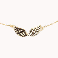 Etched Wings Necklace | FOREVER 21 - 1054787874