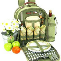 Hamptons Backpack for Four, Picnic At Ascot - Barnes & Noble