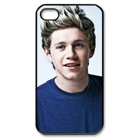 CTSLR Music & Singer Series Protective Hard Case Cover for iPhone 4 & 4S - 1 Pack - One Direction - Niall Horan 26