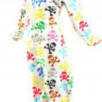 Silly Skulls Footie PJs