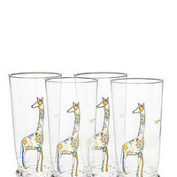 ideeli | EURO CERAMICA TABLETOP Set of 4 Animal Glasses