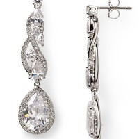 Nadri Romantic Contemporary Linear Drop Earrings | Bloomingdale's