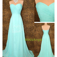 Sweetheart Grace Timeless Chiffon Sleeveless Glamour Prom Dresses