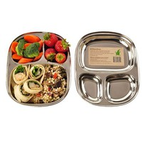 ECOlunchbox Stainless Steel ECOlunchtray, Regular | Food Containers