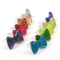 10 X 3.5mm Crystal Bow ...
