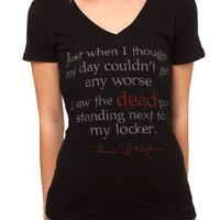 House Of Night Dead V-Neck Girls T-Shirt