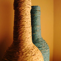 Crave / Create: Twine Wrapped Bottles