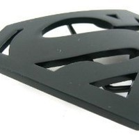 Superman Black Die Cut Belt Buckle