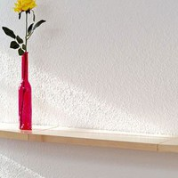 Floating Wood Display Shelf Beechwood 2 Foot