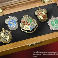 The Noble Collection: HOGWARTS House Pins