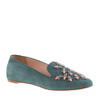 Collection Darby jeweled loafers - shoes - Women's collection - J.Crew