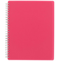 pink A5 notebook at Paperchase