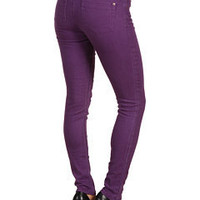 Sanctuary Colored Denim Jean Purple - 6pm.com
