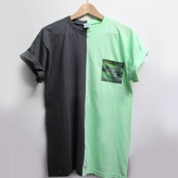 CUT & SEW TEE - jungle pocket