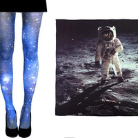 SALE. Magellanic Cloud Nebula Tight and by Shadowplaynyc on Etsy