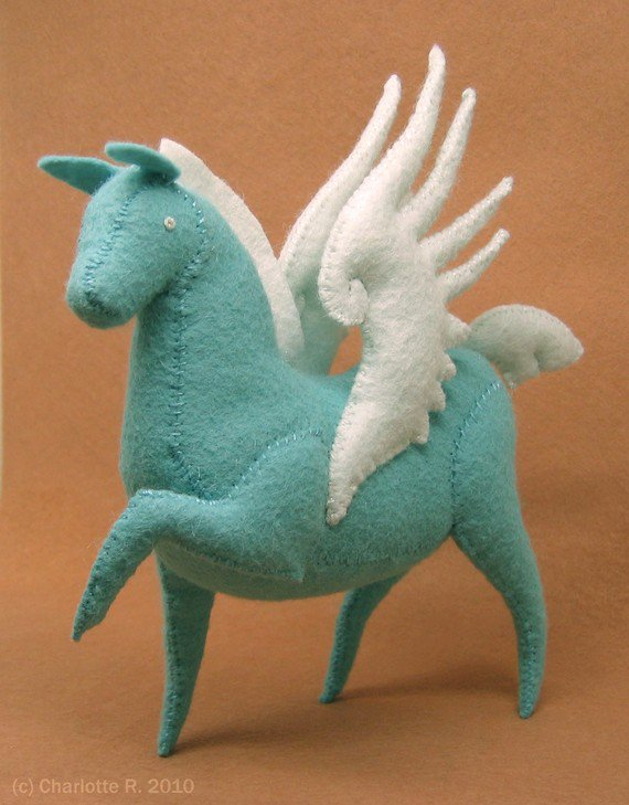 Made to Order Tamoshanter Pegasus by Floydine on Etsy