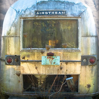 Abandoned Airstream by Deb Noyes | Society6