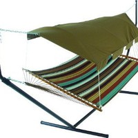 Pawleys Island Hideaway Collection leather Hammock Canopy