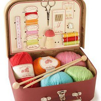 M. Patrizio - Illustrations, Crochet Creatures & Cute Stuff: Cute Knitting and Sewing Kit
